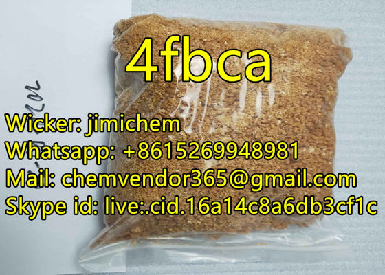 99.9% purity 4fbca Pure Research Chemicals 4Fbca Factory sell